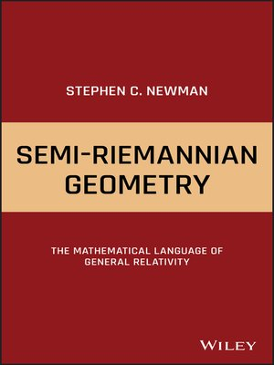 cover image of Semi-Riemannian Geometry