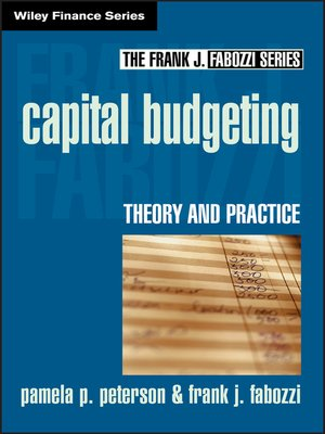 cover image of Capital Budgeting