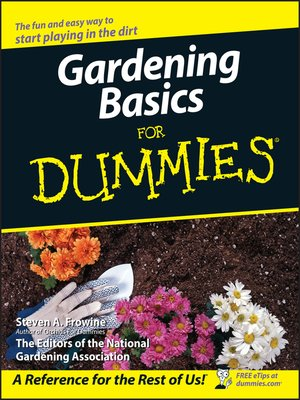 cover image of Gardening Basics For Dummies
