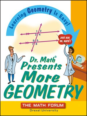 cover image of Dr. Math Presents More Geometry