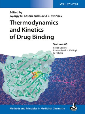 cover image of Thermodynamics and Kinetics of Drug Binding, Volume 65