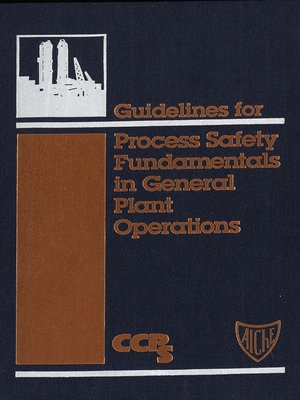 cover image of Guidelines for Process Safety Fundamentals in General Plant Operations