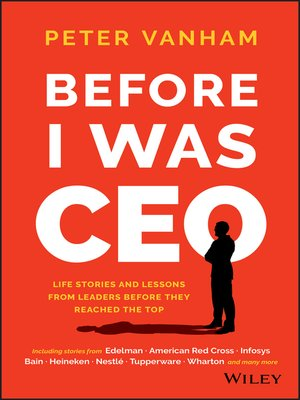 cover image of Before I Was CEO