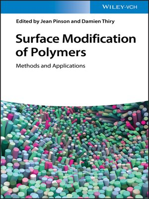 cover image of Surface Modification of Polymers