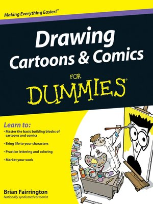 cover image of Drawing Cartoons and Comics For Dummies
