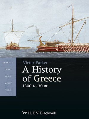 cover image of A History of Greece, 1300 to 30 BC