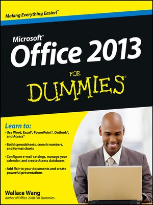 cover image of Office 2013 For Dummies