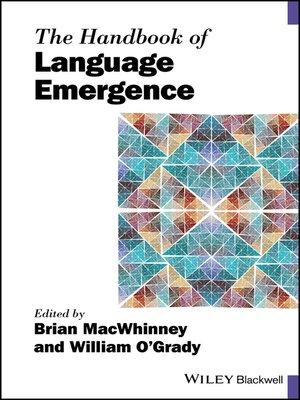cover image of The Handbook of Language Emergence