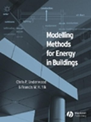cover image of Modelling Methods for Energy in Buildings
