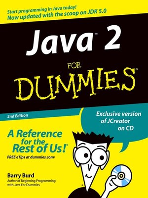 cover image of Java 2 For Dummies