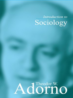 cover image of Introduction to Sociology
