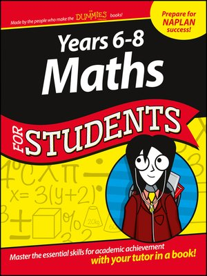 cover image of Years 6--8 Maths For Students