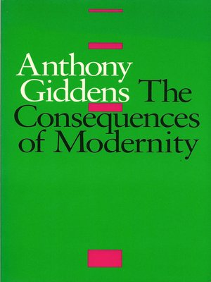 cover image of The Consequences of Modernity