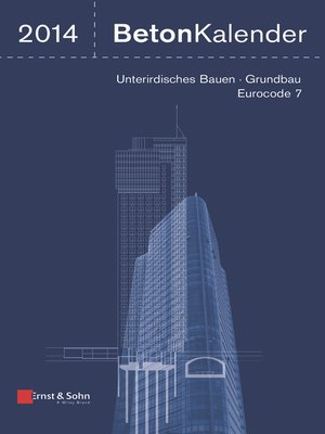 cover image of Beton-Kalender 2014