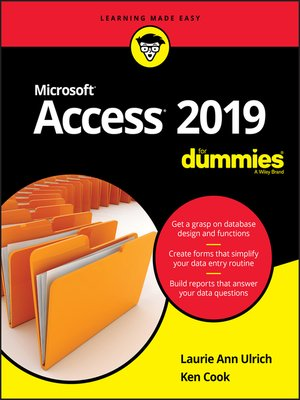 cover image of Access 2019 For Dummies