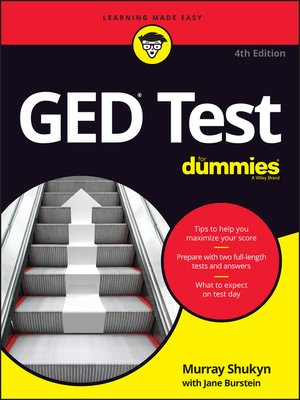 cover image of GED Test For Dummies