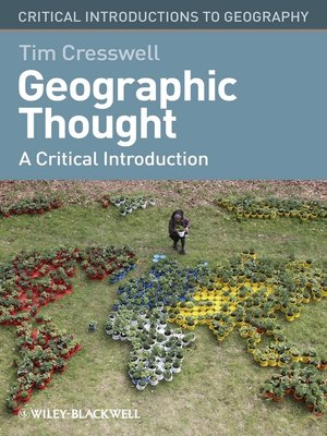 cover image of Geographic Thought