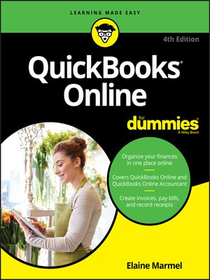 cover image of QuickBooks Online For Dummies