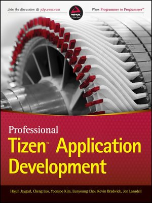 cover image of Professional Tizen Application Development