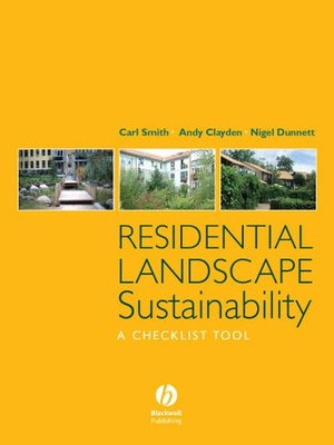 cover image of Residential Landscape Sustainability