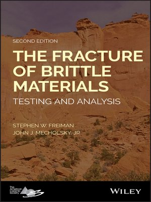 cover image of The Fracture of Brittle Materials