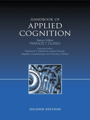cover image of Handbook of Applied Cognition