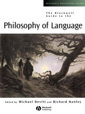cover image of The Blackwell Guide to the Philosophy of Language