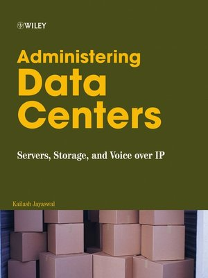 cover image of Administering Data Centers