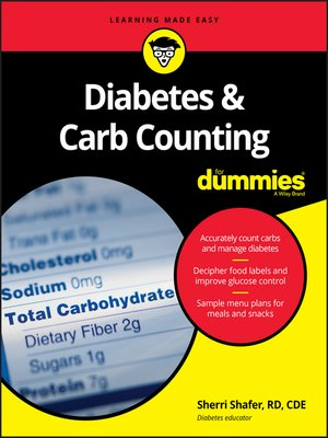 cover image of Diabetes & Carb Counting For Dummies