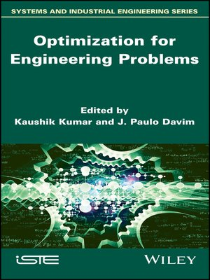 cover image of Optimization for Engineering Problems