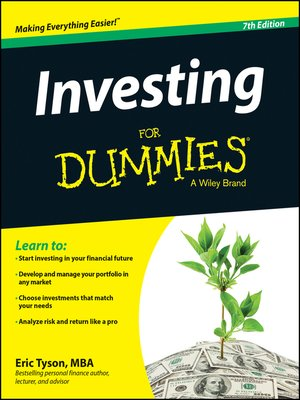 cover image of Investing For Dummies