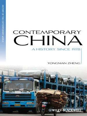 cover image of Contemporary China