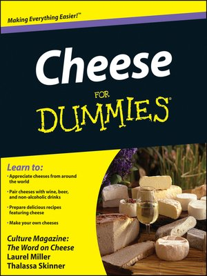 cover image of Cheese for Dummies