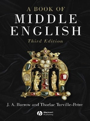 cover image of A Book of Middle English