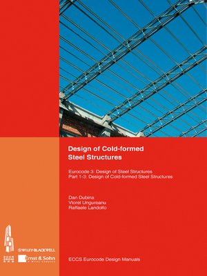 Design of Cold-formed Steel Structures by ECCS - European