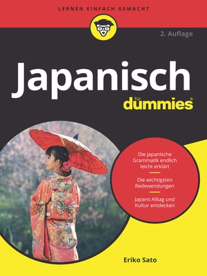 cover image of Japanisch für Dummies