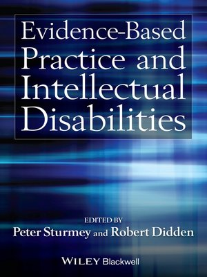 cover image of Evidence-Based Practice and Intellectual Disabilities