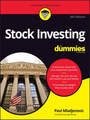 cover image of Stock Investing For Dummies