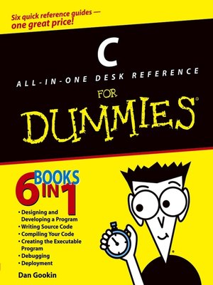 cover image of C All-in-One Desk Reference For Dummies