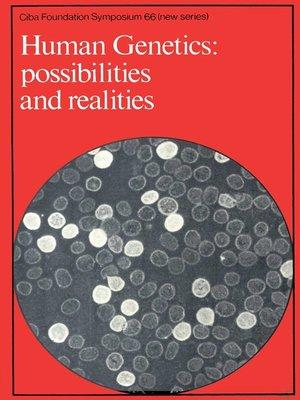 cover image of Human Genetics
