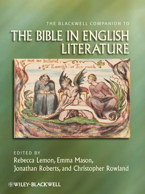 cover image of The Blackwell Companion to the Bible in English Literature