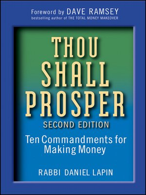 cover image of Thou Shall Prosper