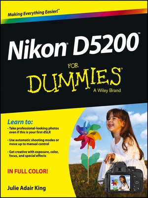 cover image of Nikon D5200 For Dummies