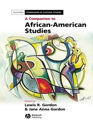 cover image of A Companion to African-American Studies