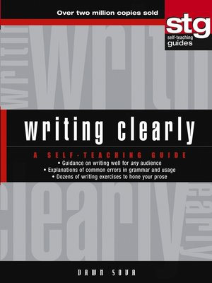 cover image of Writing Clearly