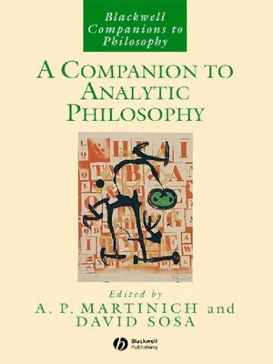 cover image of A Companion to Analytic Philosophy