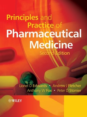 cover image of Principles and Practice of Pharmaceutical Medicine