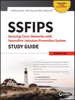 cover image of Securing Cisco Networks with Sourcefire Intrusion Prevention System Study Guide