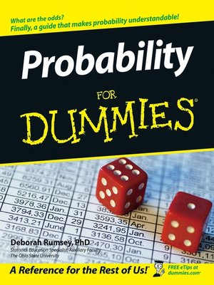 cover image of Probability For Dummies