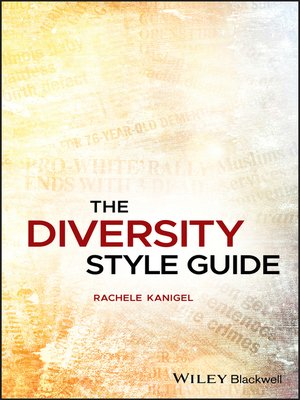 cover image of The Diversity Style Guide